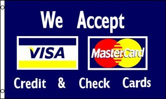 visa-mastercard-advertising-flag-5-x-3point-of-salefreepost