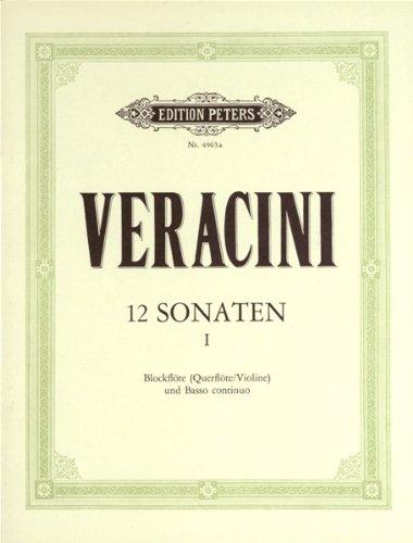 12 Sonatas Op.1, Vol.1 Violon