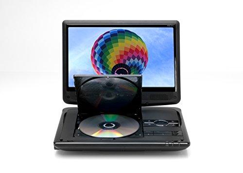 Xoro HSD 1011 Tragbarer DVD-Player mit DVB-T2 Tuner und 25,6 cm (10,1 Zoll) Bildschrim (DVB-T2 H.265 HEVC, USB 2.0, SDHC, Lithium Akku, Teleskop-Antenne, 12V Adapter, Fernbedienung) schwarz - 5