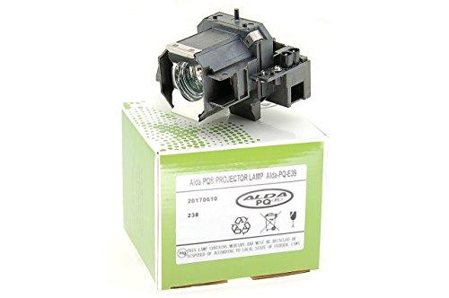 Alda PQ® Discount, Beamerlampe / Ersatzlampe kompatibel mit EPSON EMP-TW1000, EMP-TW2000, EMP-TW700, EMP-TW980, HOME CINEMA 1080, PowerLite HC 1080, PowerLite HC 1080UB, PowerLite HC 720, PowerLite PC 1080, PowerLite PC 1080UB, PowerLite PC 810 Projektoren, Alda PQ® Lampe mit Gehäuse / Halterung