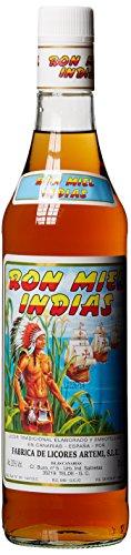 Ron Miel Indias , Honig Rum Likör, Kanarische Inseln (1 x 0.7...