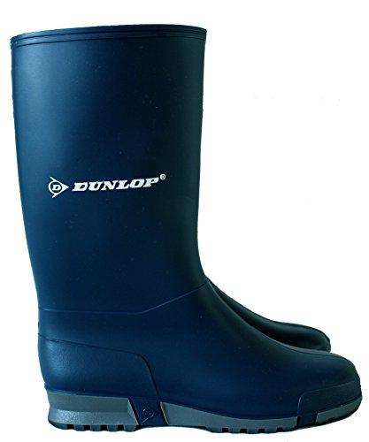 Dunlop  Dunlop,  Baby, Jungen Unisex Kinder Jungen Baby Mädchen Mädchen Arbeits-Gummistiefel Blau / Grau