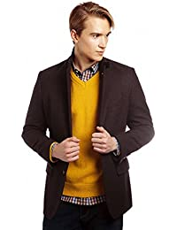 VEDONEIRE Mens Wool Blazer (3084S PORT WINE) maroon jacket