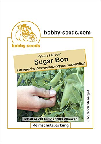Bobby-Seeds Erbsensamen Sugar Bon Zuckererbse Portion