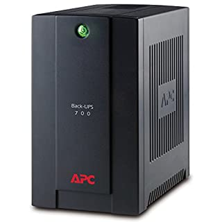 APC Back-UPS BX - BX700UI - Uninterruptible Power Supply 700VA (AVR, 4 Outlets IEC-C13, USB, Shutdown Software)