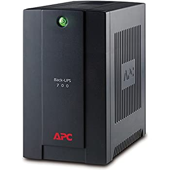 APC Back-UPS BX 700 - Onduleur 700VA, BX700U-FR - AVR - 3 Prises FR, USB, Logiciel d'arrêt