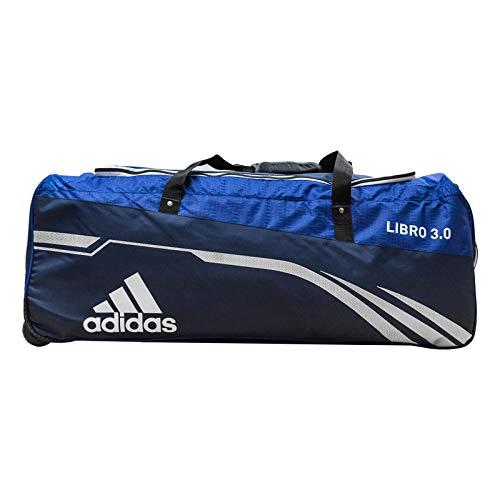 adidas Libro Cricket Wheelie Kit Bag 3.0 Medium M blau -