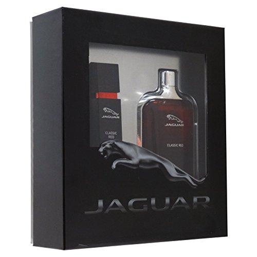 Jaguar Classic Red Confezione Regalo 100ml EDT + 15ml EDT Spray da Viaggio