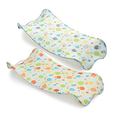 Soutien doux pour bain de bébé de bathnet net Chaise pour un lavage facile et nettoyage | sûr et confortable | couleur peut
