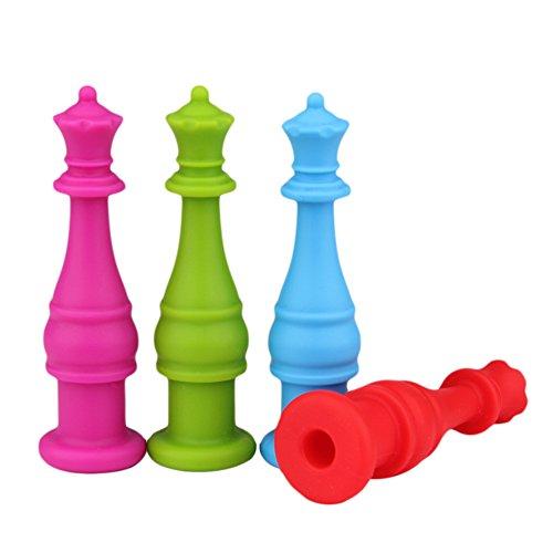 4pcs-jugute-ajedrez-internacional-lpiz-topper-siliconamordedor-de-silicona