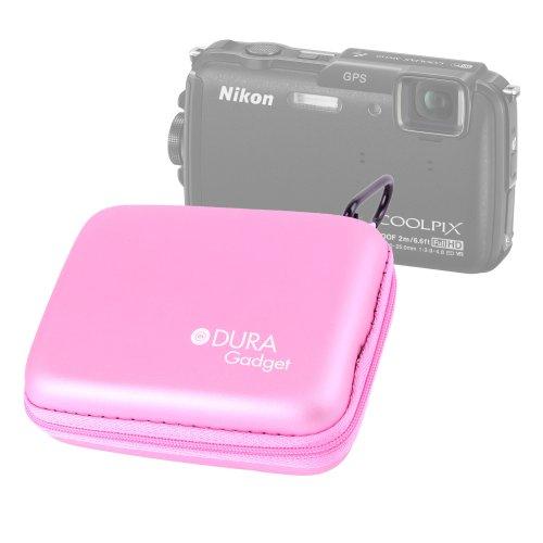 duragadget-pink-compact-camera-case-with-belt-clip-for-nikon-coolpix-aw110-panasonic-lumix-dmc-gm1-k
