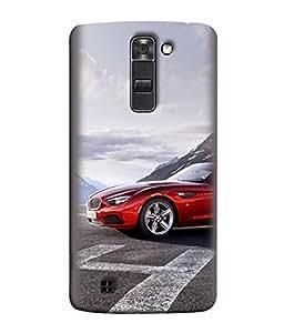 Digiarts Designer Back Case Cover for LG K10, LG K10 Dual SIM, LG K10 K420N K430DS K430DSF K430DSY (Vehicle Dream Vacation Trip Ride)