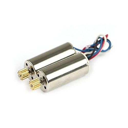 Coolplay® UDI U817 817C U817A U818A Clockwise Motor & Anti-Clockwise Motor with Metal Gear Spare Parts for Udirc RC Quadcopter