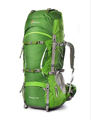 HWLXBB Borsa per alpinismo all'aperto Uomini e donne 80L Borsa per alpinismo multifunzione impermeabile Escursioni alpinismo Zainetto per il tempo libero all'alpinismo zaino ( Colore : 2* ) 3*