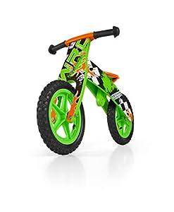 Milly Mally Madera Bike Balance niños del Muchacho / Bicicleta de Entrenamiento para niños de 12