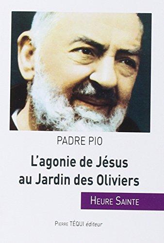 L'agonie de Jésus au Jardin des Oliviers par Padre Pio