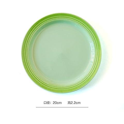 Heat baking tray/creative plates/western food plate/ceramic home,afternoon tea tray-B