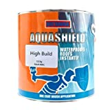Aquashield High Build Instant Waterproof Roof Repair Coating Sealant with Reinforced Fibres |