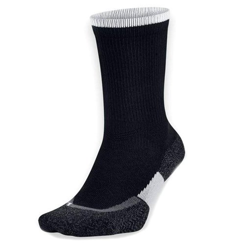 Nike Crew Socks Elite Tennis Black/White