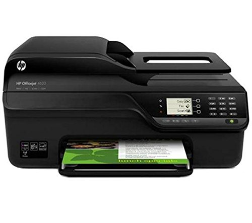 HP Officejet 4622 e-All-in-One-Tintenstrahl-Multifunktionsdrucker (4-in-1, Drucker, Kopierer, Scanner, Fax, WLAN, USB 2.0)