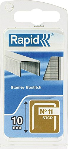 Agrafe n°11 Rapid Agraf - Hauteur 10 mm - 648 agrafes