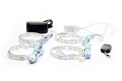 LED Lichtleisten Set Farbwechsel RGB Funkfernbedienung - 4x50cm!!! - jetzt noch besser und mit neuem Design!!