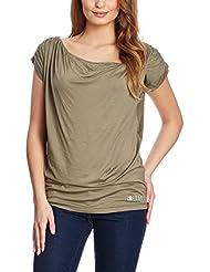 XFORE Golfwear - T-shirt -  - À rayures - Manches courtes Femme Vert Vert