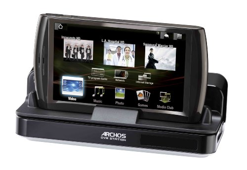Archos DVR-Station Dockingstation (inkl. HD Cinema Plug-In) für Archos 5 Internet Tablet Archos Docking