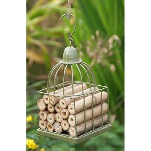 Gazebo o Jaula De Pájaros Estilo Insecto Casa - Verde