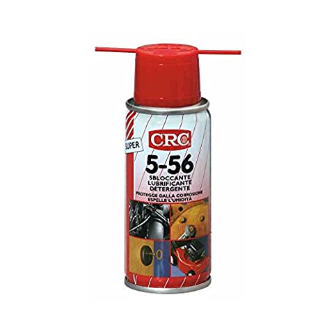 CRC 5 – 56 300 ml Multi-Purpose Quick Strong Anticorrosive Detergent Degreaser Spray Lubricant Car Industry Home Garden Orto Leisure Restores Electric Insulation Starter Engines Wet Protection Metals Corrosion Moisture ossidazioni Tool