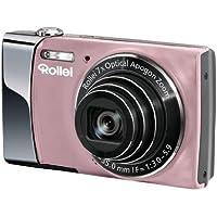 Rollei Powerflex 470 Digitalkamera (14 Megapixel, 7-fach opt. Zoom, opt. Bildstabilisator, 7,62 cm (3 Zoll) Display, HD-Video-Auflösung, 4GB SDHC-Karte) pink