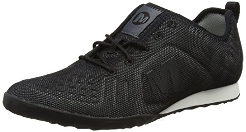 Merrell Women's Civet Lace Low-Top Sneakers, Black (Black), 4.5 UK 37 1/2 EU
