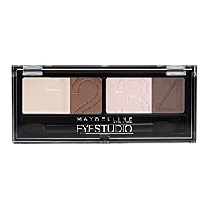 Maybelline Eye Studio Quads 2 Vivid Plums - eye shadows (Brown, Vivid plums, Italy)