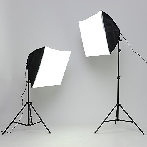 Zoom IMG-2 amzdeal softbox kit studio fotografico