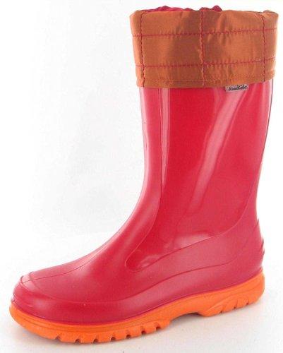 Romika Shuttle II 05002, Bottes de pluie mixte enfant red
