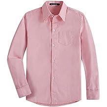 49b303bd9 Spring Gege Chicos Manga Larga Abotonar Camisa para Niño ...