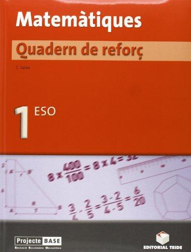 Matemàtiques. Quadern de reforç 1er ESO - BASE - 9788430749331