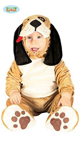 Baby Hund - Kostüm für Kinder Gr. 86-98, Größe:86/92