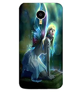 ColourCraft Angel Design Back Case Cover for MEIZU BLUE CHARM NOTE 3