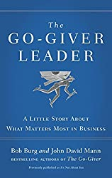 The Go-Giver Leader by Bob,Mann, John David Burg