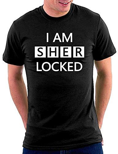 Ale haung Soy una Camiseta Sherlock, 3 XL.