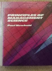 Principles of Management Science