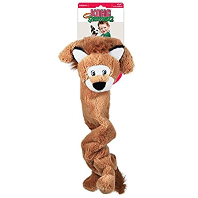 KONG Stretchezz Jumbo Lion Dog Toy