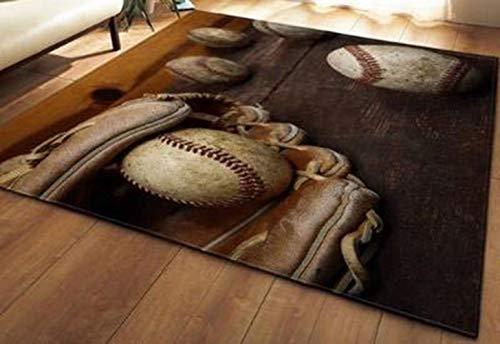 OMUUTR Wohnzimmer Teppich Designer Teppich Weich Familie Unterhaltung Teppich Größe:99.1 cm x 152.4 cm, 121.9x160.0cm,121.9x182.9cm,147.3x203.2cm, 16 Farbe -