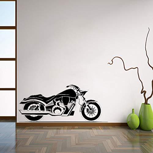 jiushivr Adesivo da Parete per Moto Adesivo da Parete per Moto Adesivo da Parete per Garage Decorazioni per la casa Interni per Camera da Letto Adesivi Rimovibili 63x148cm