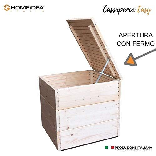 Home Idea Italia Cassapanca In Legno 45 X 41 X 43 Cm Baule