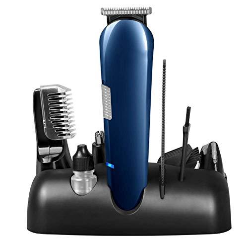 Haarschneider Und NasentrimmerHerren-Haarschneidemaschine, wiederaufladbares Beauty-Set Bartschneider-Multifunktions-Haar-Set