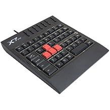 A4Tech X7-G100 - Teclado (USB, recomendado para gaming console, 48 teclas, tamaño mini), color negro