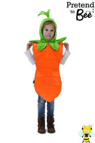 Imagen de kids  disfraz de zanahoria para niño, talla 3  5 años alternativa