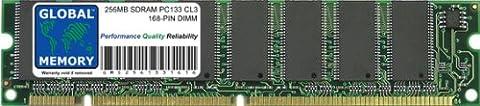 256Mo PC133 133MHz 168-PIN SDRAM DIMM MÉMOIRE RAM POUR ORDINATEURS DE BUREAU/CARTES MERES